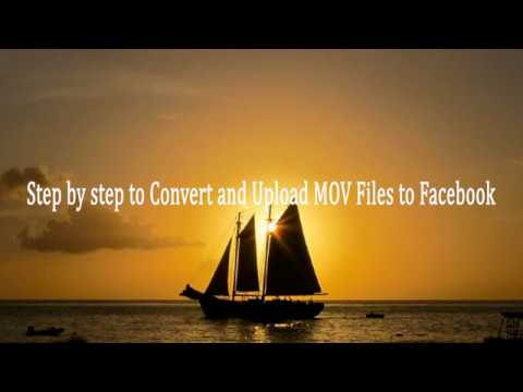 Fail To Upload MOV File To Facebook, Fixed.