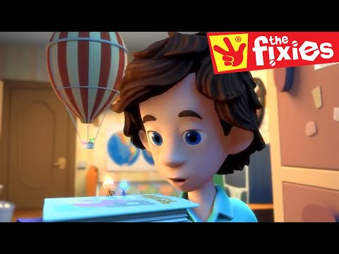 The Fixies ★ The Hot Air Balloon & More ★ Fixies English | Cartoon For Kids