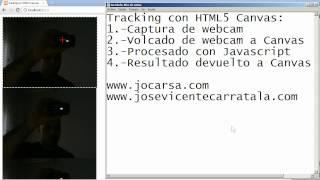 Jose Vicente Carratala - Tracking con HTML5 y Canvas