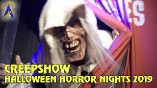 Creepshow maze at Halloween Horror Nights Hollywood 2019