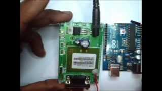 ARDUINO WITH GSM - Making a Call & Sending SMS Video