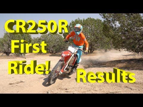 2003 Honda CR250R Desert Testing | Post Ride Report!!  Best Cornering Bike EVER?