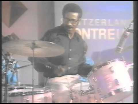 Max Roach and Northern Colororado University Big Band Montreux 1971