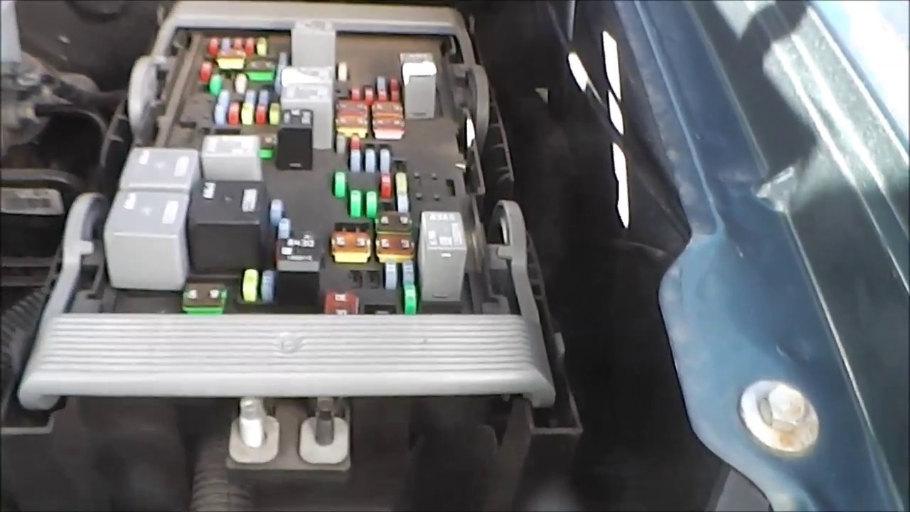 gmc and chevrolet truck fuse box locations [ 1280 x 720 Pixel ]