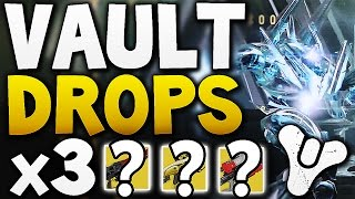 Destiny - VAULT HARD DROPS x3 (Week 11)