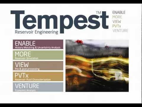 Tempest 7 - Reservoir Engineering Suite