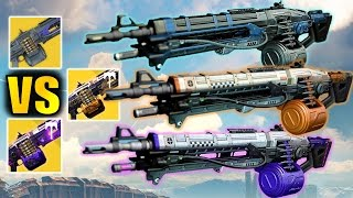 Destiny: Nova Mortis vs Abbadon vs Thunderlord! | Best Machine Gun | The Dawning