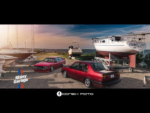 Audi Coupe GT B2 & VW Jetta MK2 & Shiny Garage Cosmetics