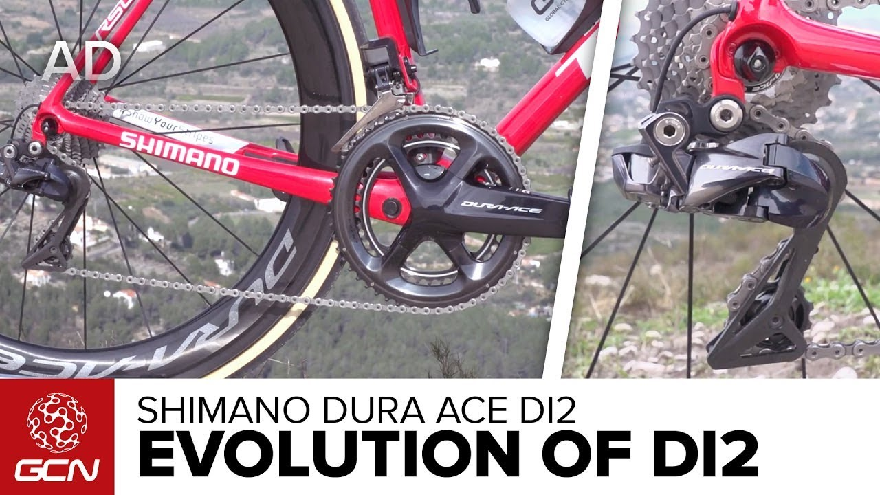 e8949a47afe The Evolution Of Shimano Dura Ace Di2 - YouTube