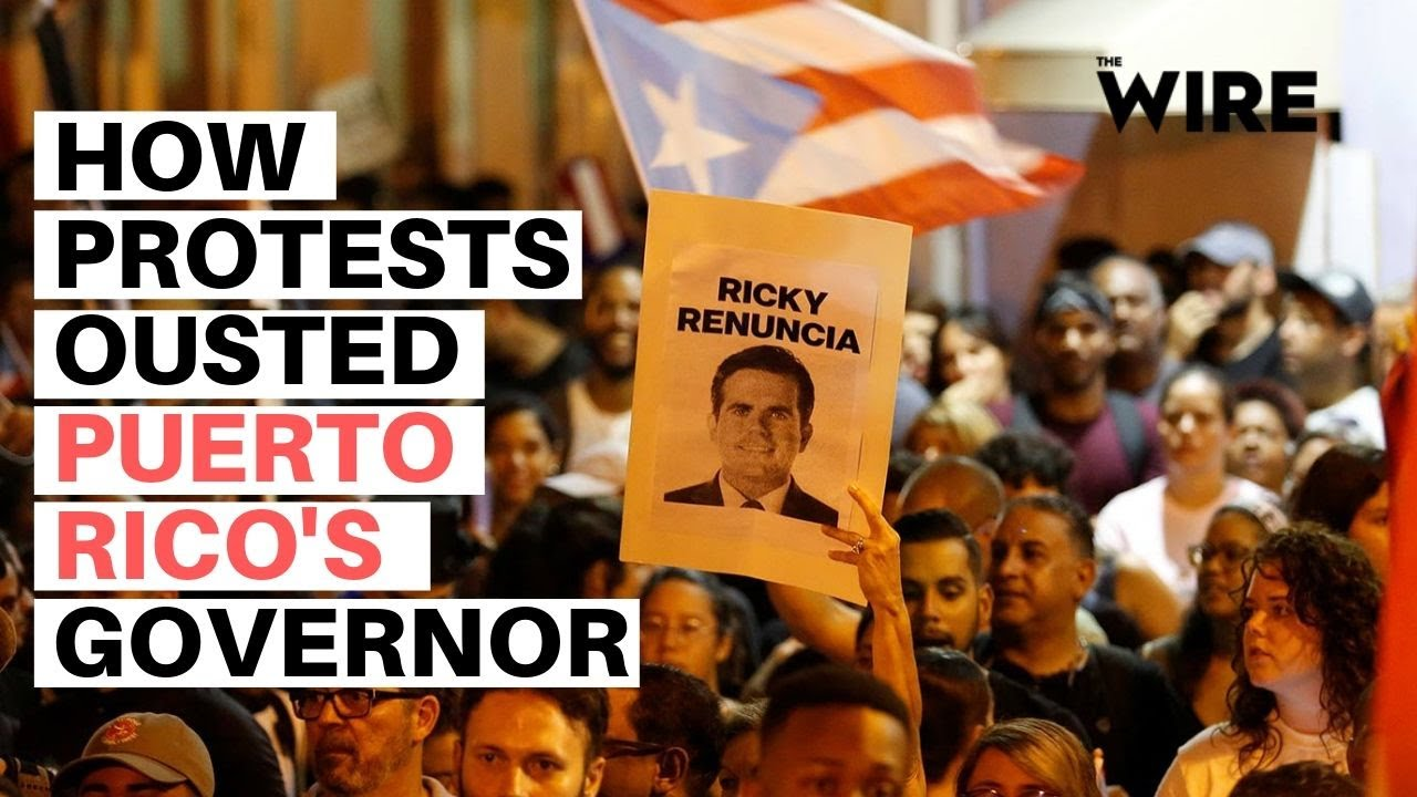 Image result for Oust Puerto Rico's Governor