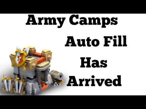 Auto Fill | Army Camps | Hiring Troops | Hack | Castle Clash