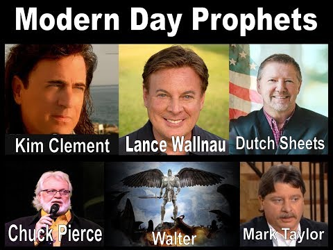 Prophecy for the next 7 years & 7 months   Told by the modern day prophets Kim Clement, Lance Wallna