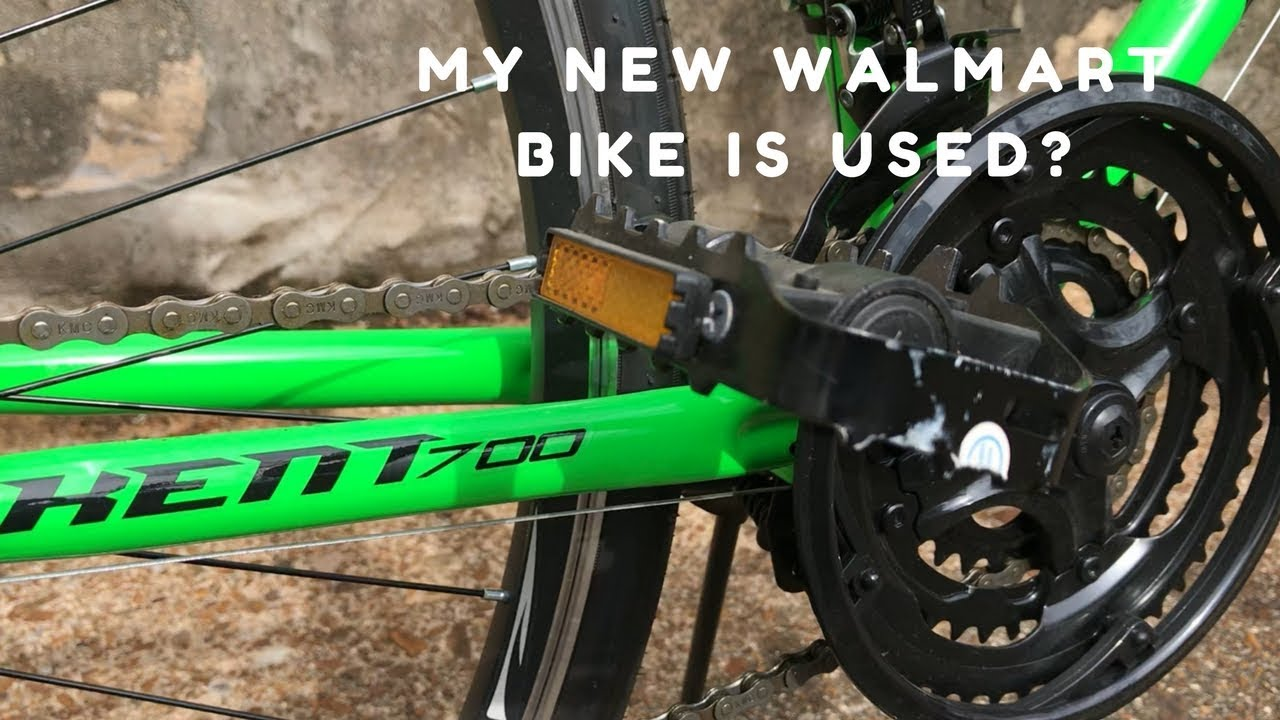 Walmart sold me a used bike - Inspect before you buy!