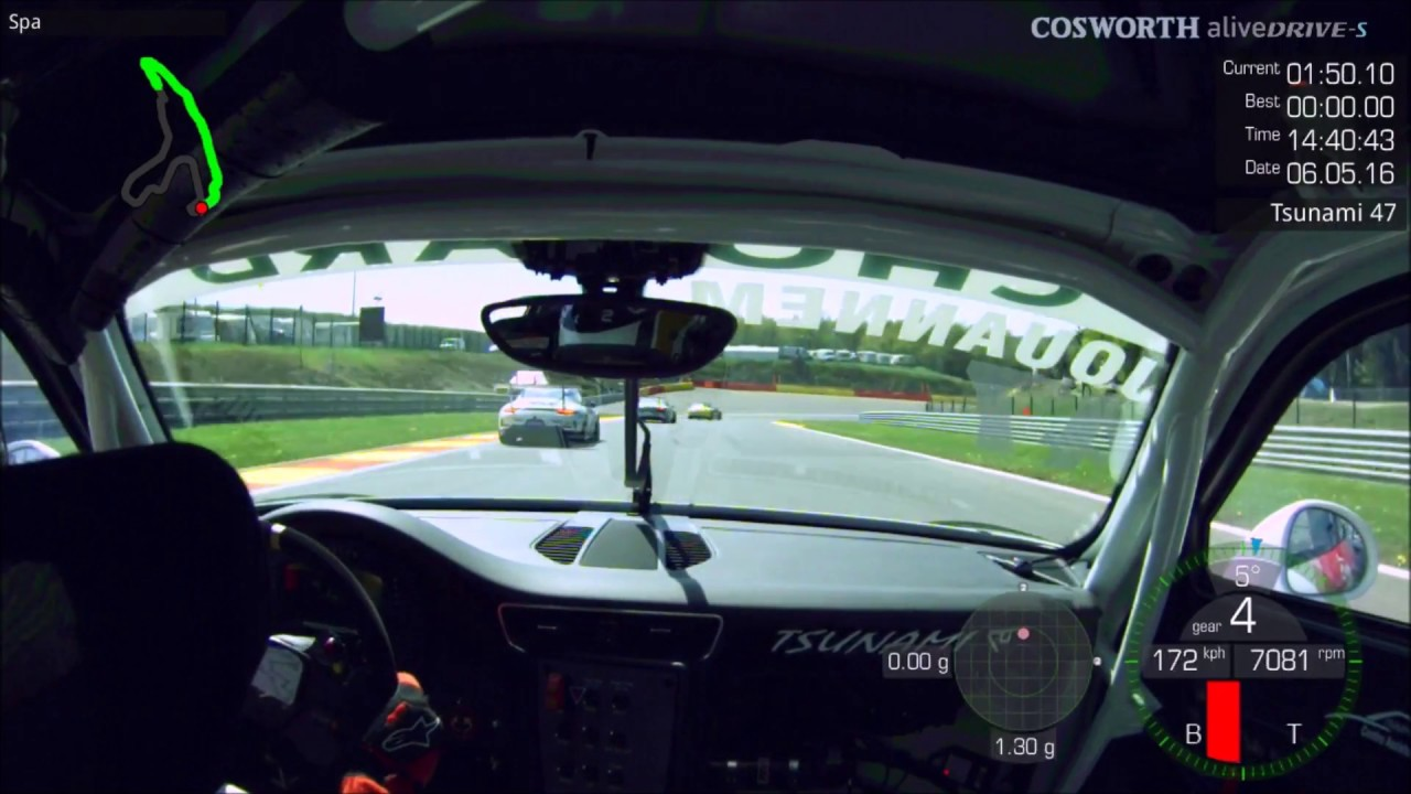 Porsche 911 GT3 - Circuit de Spa Francorchamps - Onboard Start - Alexandre Jouannem - YouTube