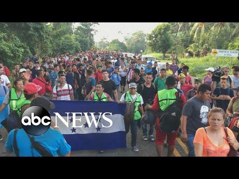 Matt Gutman: Caravan is a 'mass of humanity' heading toward U.S. border