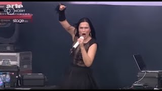 Tarja Turunen medley -Tutankhamen -  Ever Dream - The Riddler - Slaying The Dreamer  Hell fest 2016