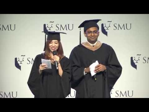 SMU Commencement 2016 – Lee Kong Chian School of Business Ceremony 2