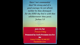 Promise Friday - Joshua1:9