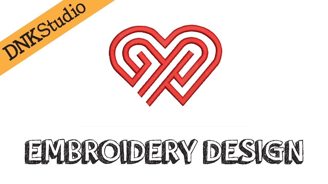 Heart Valentine Embroidery Design Youtube
