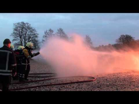 Liquefied Petroleum Gas fire training