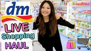 dm LIVE Shopping Haul! Drogerie Neuheiten März 2017 | Mamiseelen