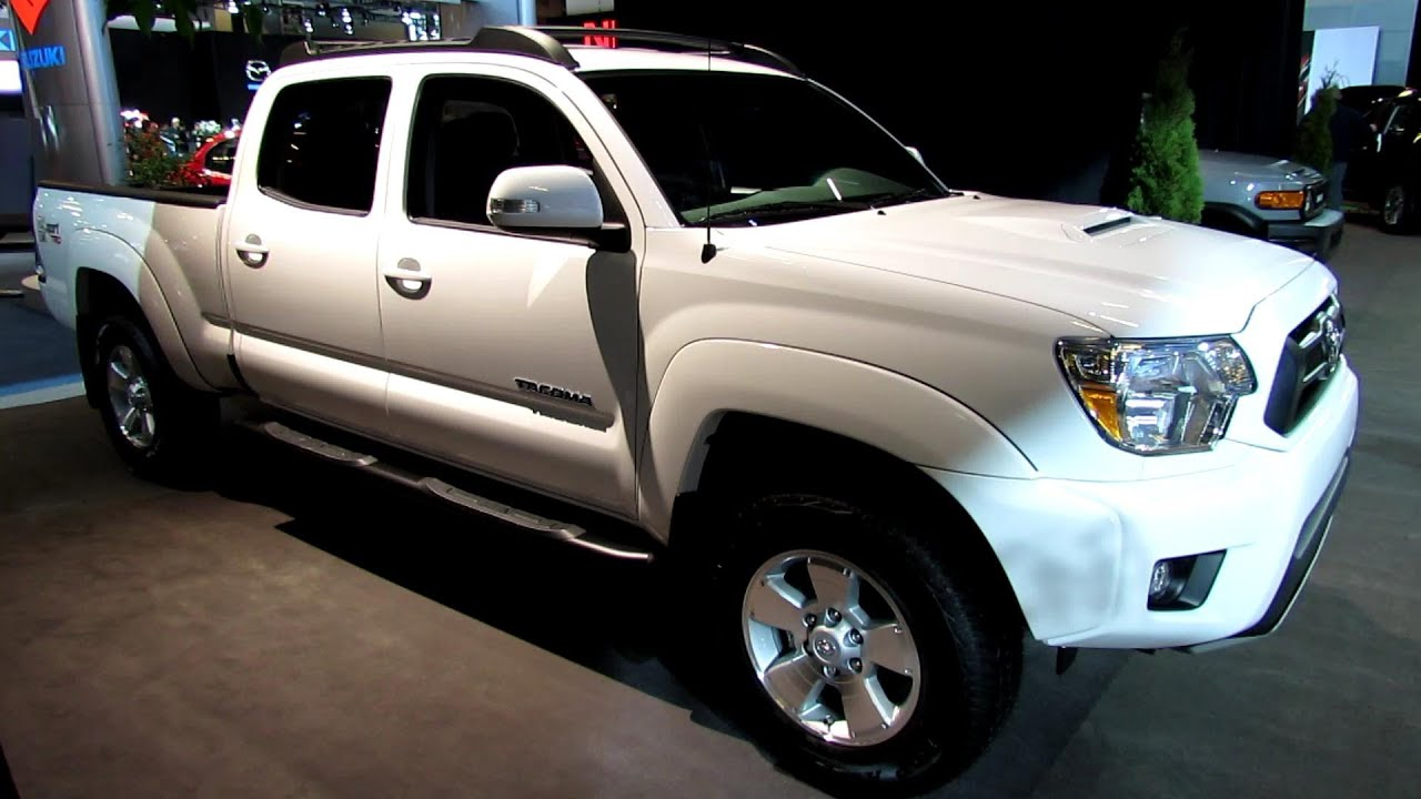 2013 Toyota Tacoma 4x4 Trd Exterior And Interior