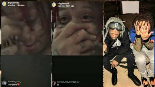 Xxxtentacion sound alike gets Trippie Redd emotional. Do you think it sounds like X ?