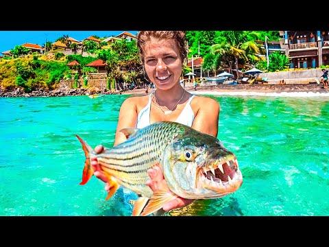 Вот это улов! Хватит с нас карантина! Рыбалка на Бали. Открываем пляжи