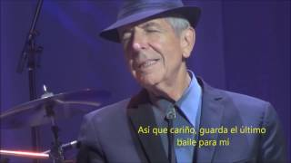 Leonard Cohen - Save the Last Dance for Me (Traducida)