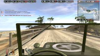 Hostile Takeover: Wake Island Edition pt.2 - Battlefield 1942 Gameplay