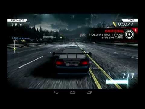 Need for Speed Most Wanted 2012 - Android Gameplay Mobile Nvidia EVGA Tegra NOTE 7 Tablet - 동영상