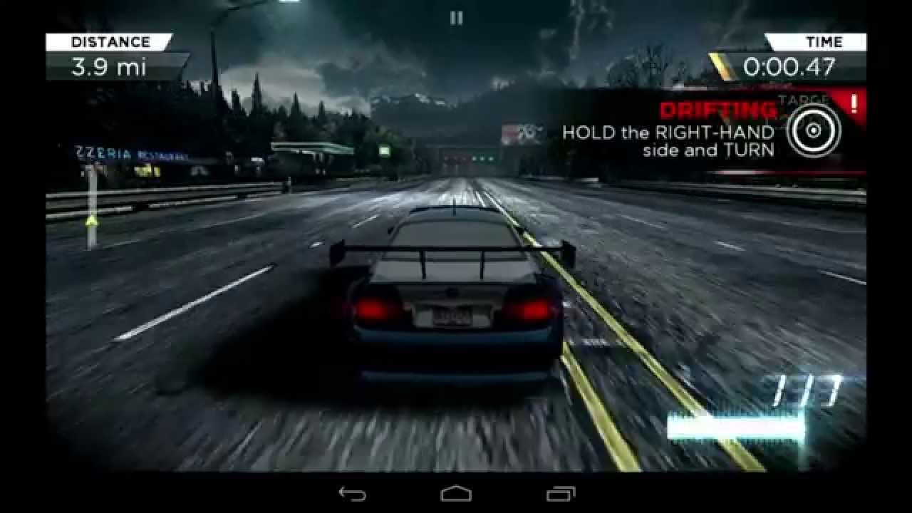 Need For Speed Most Wanted 2012 Android Gameplay Mobile Nvidia