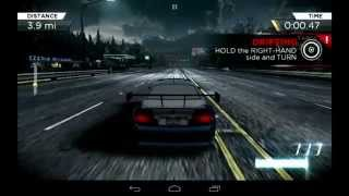 Need for Speed Most Wanted 2012 - Android Gameplay Mobile Nvidia EVGA Tegra NOTE 7 Tablet