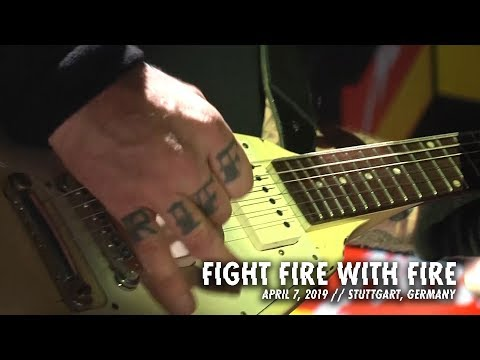 Metallica: Fight Fire with Fire (Stuttgart, Germany - April 7, 2018)