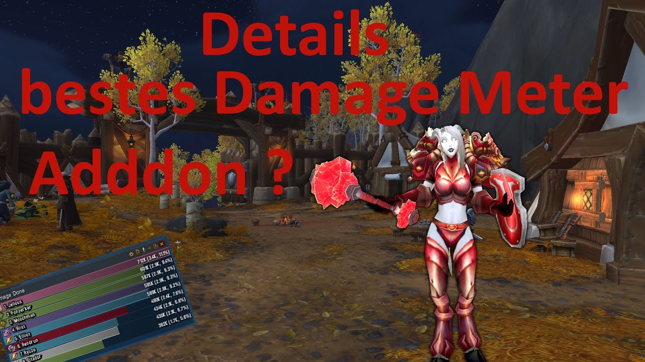 WOW LEGION | DETAILS | BESTE DAMAGE METER ADDON ?