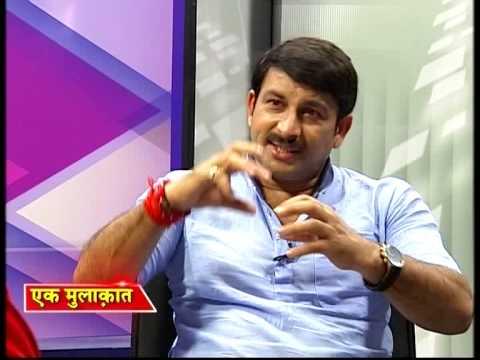 Manoj Tibrewal Aakash interviewed MP & Actor Manoj Tiwari (Full Interview)