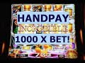 INCREDIBLE HANDPAY BONUS ROUND ON HEIDI'S BIER HAUS SLOT!! - 1000 x BET