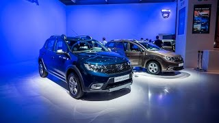 Dacia Pridala Led A Edc Prevodovku - Autosalón Paríž 2016