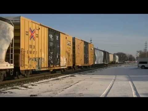 A Day In Terre Haute, IN (Monday, January 20, 2014) Railfanning