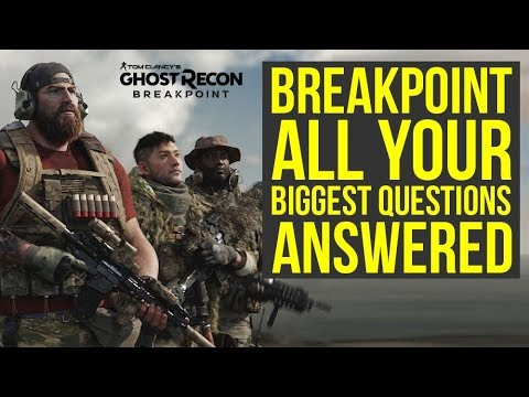 Tom Clancy Ghost Recon Breakpoint - Your Biggest Questions Answered (Ghost Recon Breakpoint Trailer)