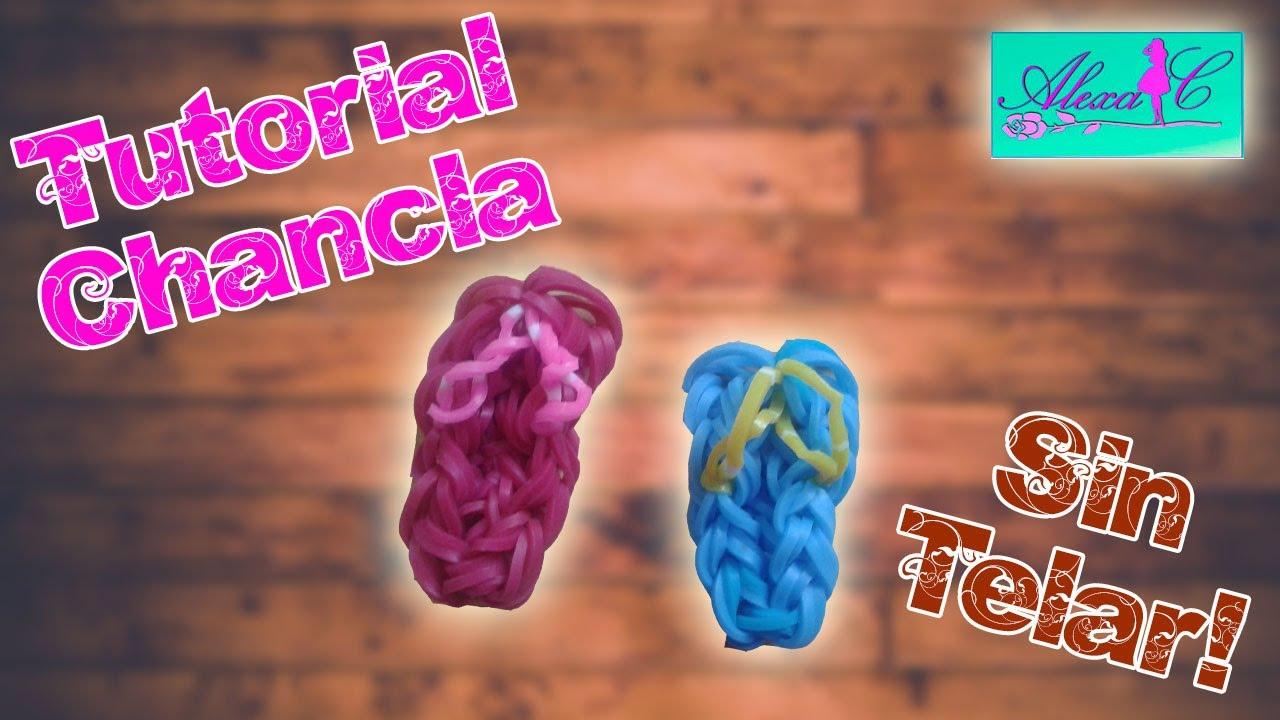 1b3948b4c618 ♥ Tutorial: Chanclas de gomitas (sin telar) ♥