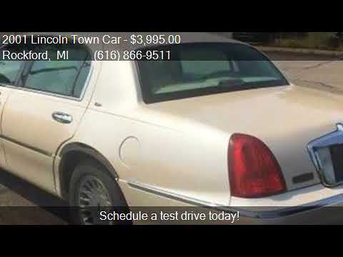 2001 Lincoln Town Car Cartier 4dr Sedan For Sale In Rockford Youtube