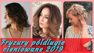 Top 20 🎀 najlepszy fryzury półdługie cieniowane 2019