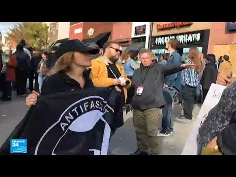 الولايات المتحدة.. ازدياد عدد أعضاء حركة أنتيفا المناهضة للفاشية  - نشر قبل 4 ساعة