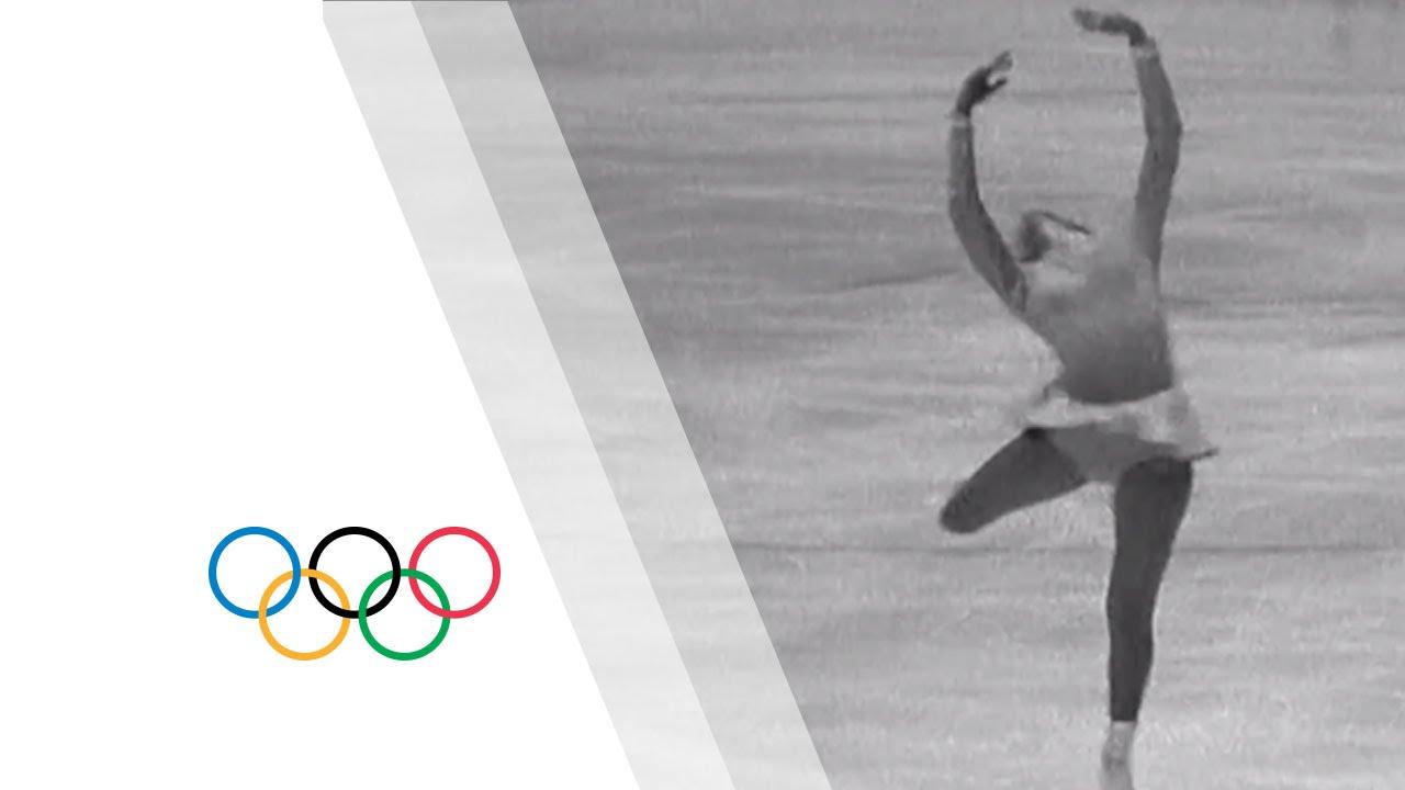 Peggy Fleming - America's Golden Girl | Grenoble 1968 Winter Olympics