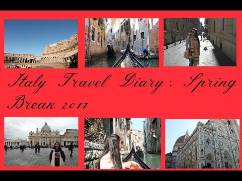 Italy Travel Diary: Spring Break '17 || Natalia V