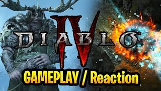 Diablo 4 Gameplay Reaction And Commentay Diablo IV Blizzcon 2019 Diablo 4 Trailer