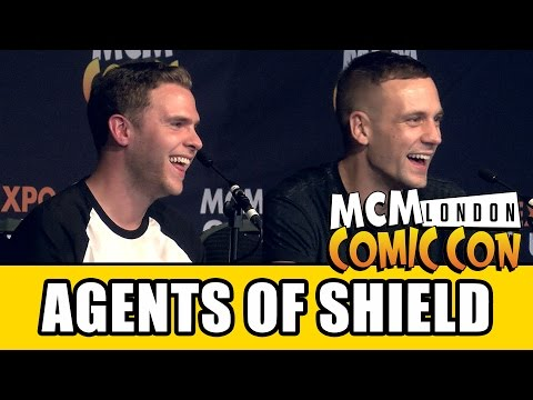 Agents of SHIELD MCM London Comic Con Panel  Iain De Caestecker & Nick Blood