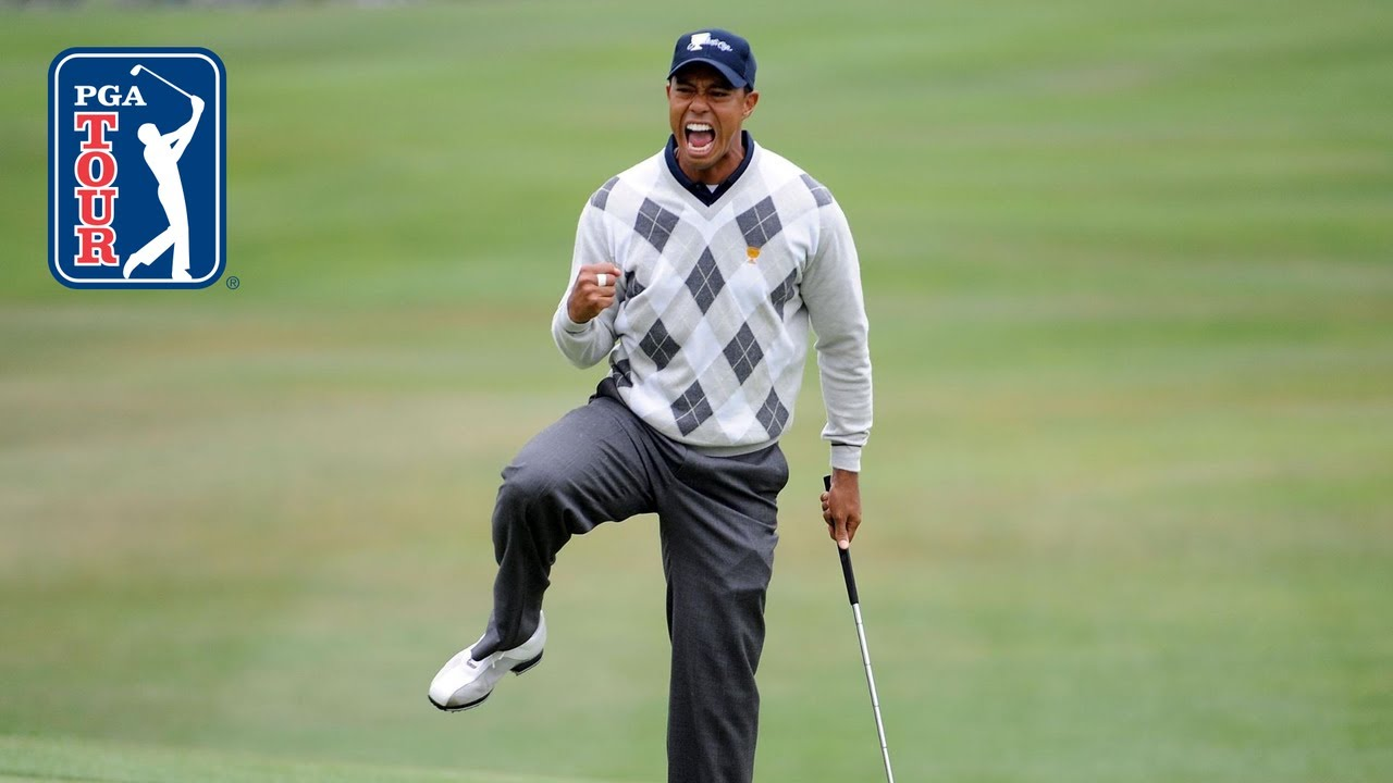 Tiger Woods top-5 shots from TPC Harding Park