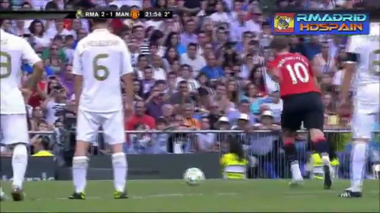 Real Madrid 3 2 Manchester United Legend Match 03 06